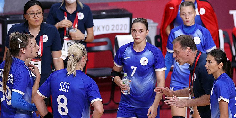 Российские гандболистки обыграли Черногорию и вышли в полуфинал Олимпийских игр