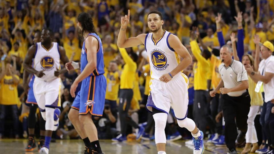 «Голден Стэйт» во второй раз обыграл «Кливленд» в финальной серии НБА