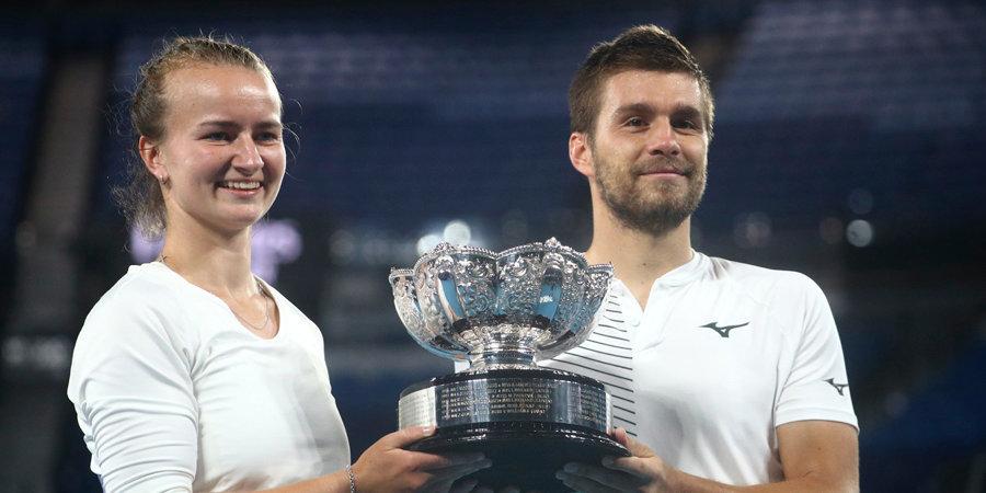 Крейчикова и Мектич стали победителями Australian Open в миксте