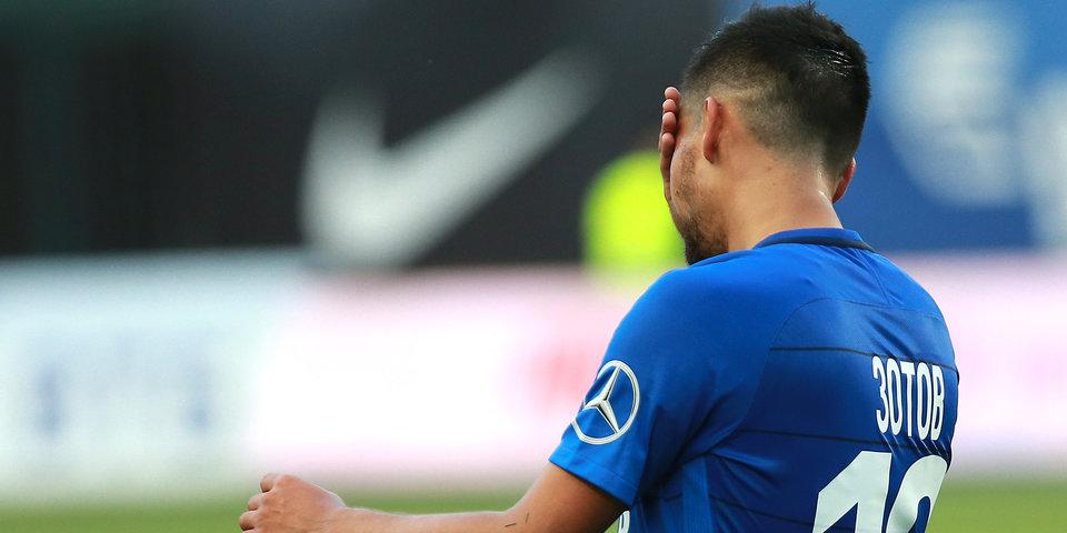 «Динамо» проиграло «Тосно», Погребняк впервые в сезоне вышел на поле