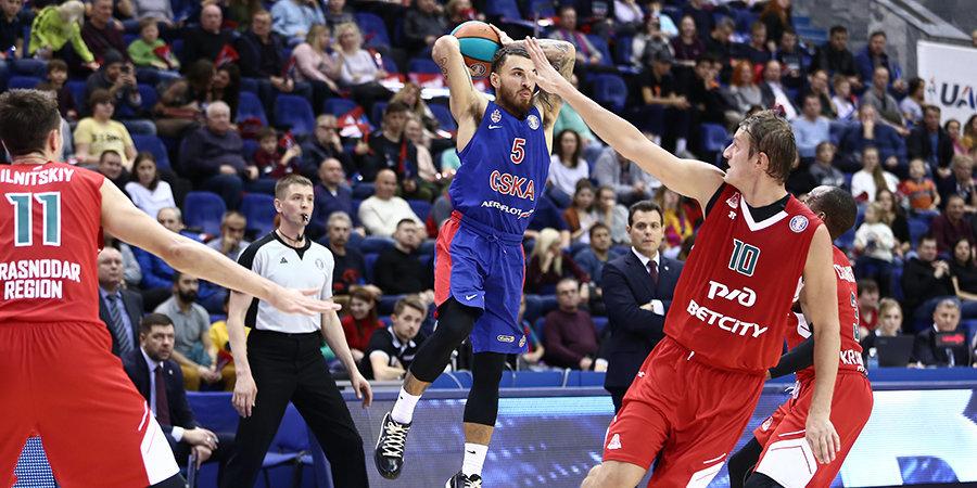 ЦСКА выиграл в Краснодаре и продолжает погоню за «Химками». Главное о матче недели