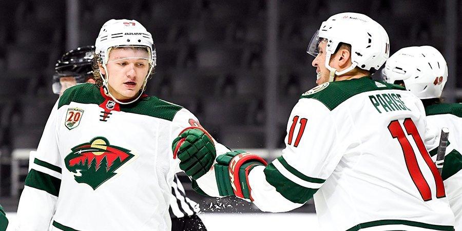 «С детства за Кирилла Капризова!» Как в НХЛ родилась сверхновая звезда из России