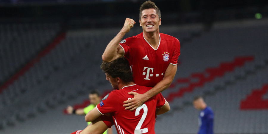 «Бавария» вышла в четвертьфинал Лиги чемпионов, разгромив «Челси» с общим счетом 7:1