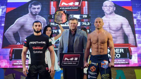 Яндиев за минуту отобрал чемпионский пояс М-1 у Бутенко, Юсупов сохранил титул в бою с Пютцем