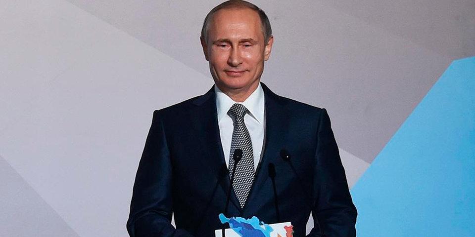 Путин поздравил Шмелеву с победой на чемпионате мира по велоспорту на треке
