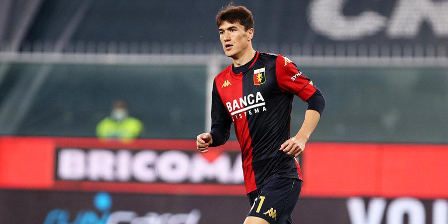 «Дженоа» обыграл «Сампдорию» в Кубке Италии, Шомуродов отметился голевой передачей