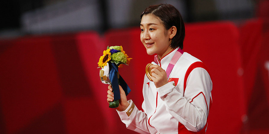 Китаянка Мэн победила на Олимпиаде в настольном теннисе