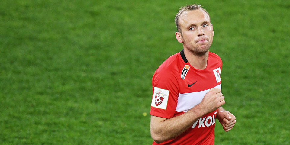 Глушаков получил ушиб колена в матче с ПАОК