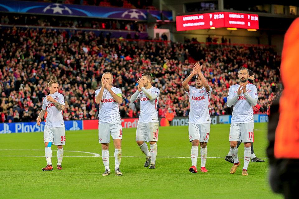 Глушаков извинился перед болельщиками «Спартака» за безобразную игру с «Ливерпулем»