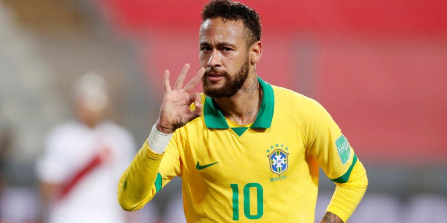 Сборная Бразилии обыграла Колумбию в матче Кубка Америки, забив победный мяч на 90+10 минуте