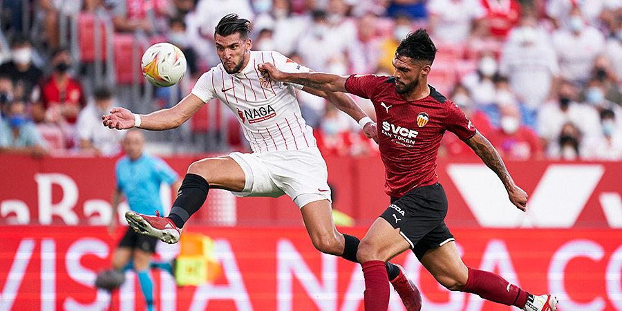 «Севилья» забила три мяча «Валенсии», «Эспаньол» с минимальным счетом переиграл «Алавес»