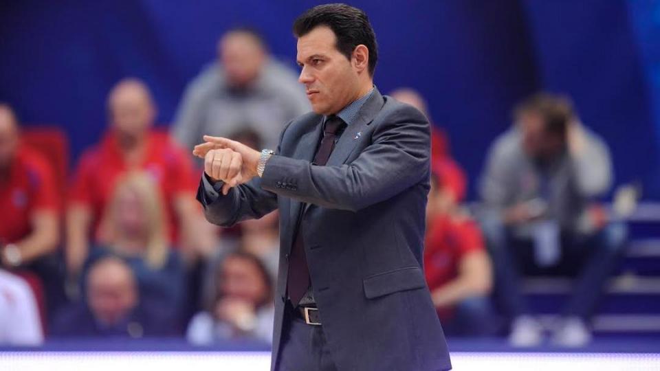 Димитрис Итудис: «Баскетбол – это не только очки, здесь много факторов»