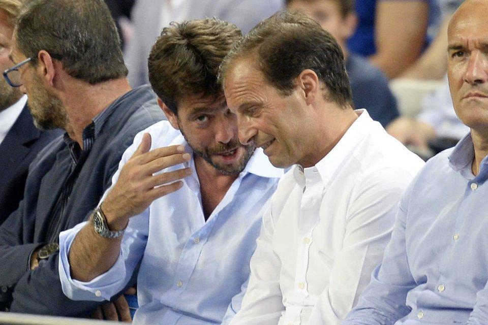 СМИ: Аллегри смотрел матч против «Торино» дома у президента «Ювентуса»