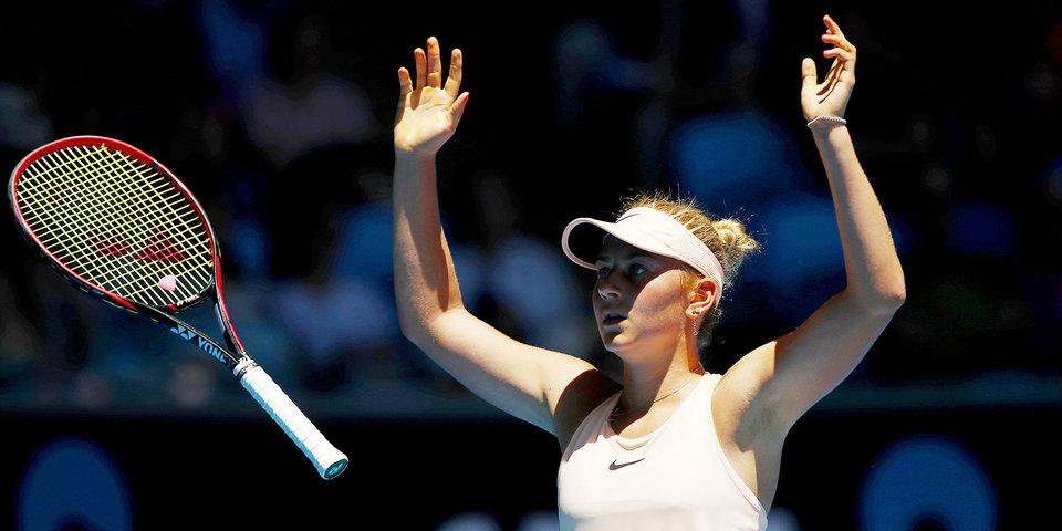 15-летняя украинка в 3-м круге Australian Open сыграет со Свитолиной