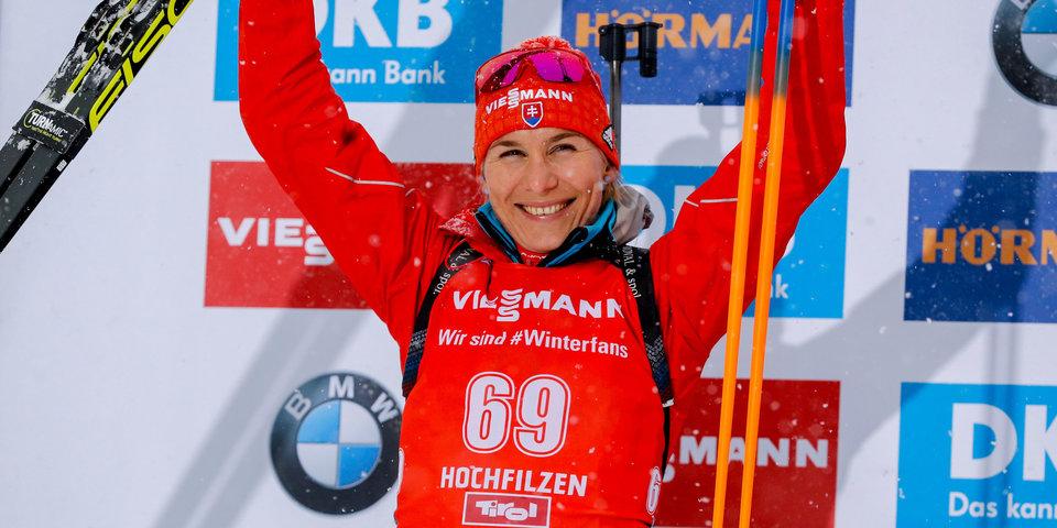 Кузьмина выиграла пасьют в Хохфильцене, Акимова показала лучший результат в сезоне