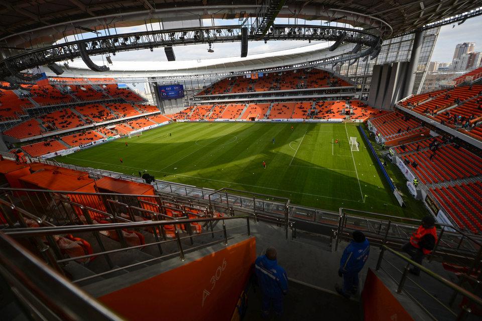 На матч «Урал» — «Нижний Новгород» смогут попасть 500 болельщиков