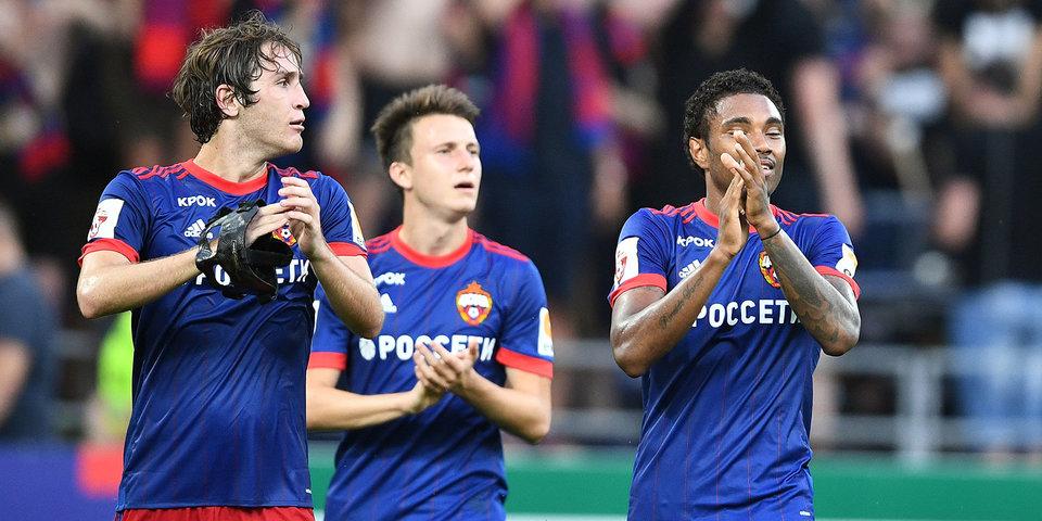 Дубль Витинью помог ЦСКА разгромить «Тосно»
