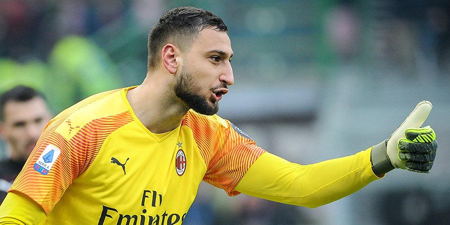 Джанлуиджи Доннарумма — о новом контракте: «Никаких проблем. Хочу остаться в «Милане» надолго»