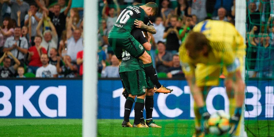 «Анжи» дарит Смолову гол, Вандерсон забивает, как Роналдиньо