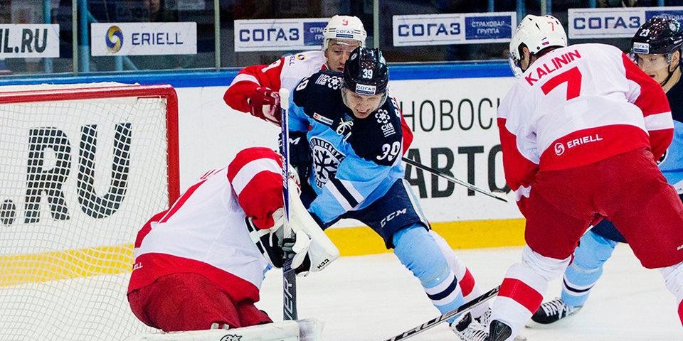 «Магнитка» откроет сезон матчем с «Автомобилистом», «Спартак» сыграет с «Сибирью»