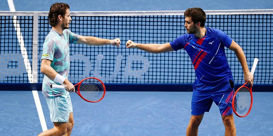 Колхоф и Мектич выиграли Итоговый турнир ATP в парном разряде