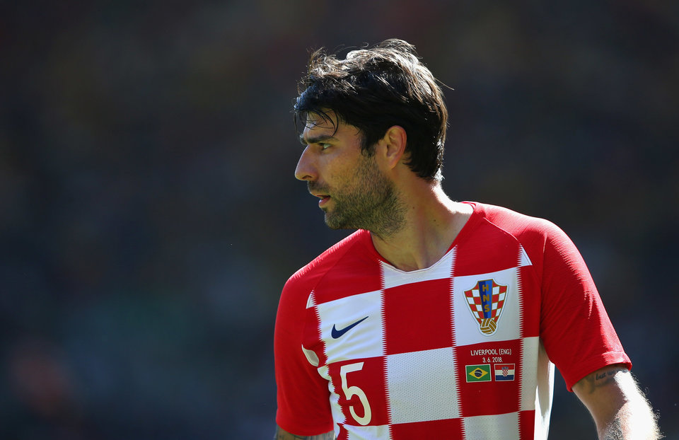 Модрич поблагодарил Чорлуку за выступление в сборной Хорватии
