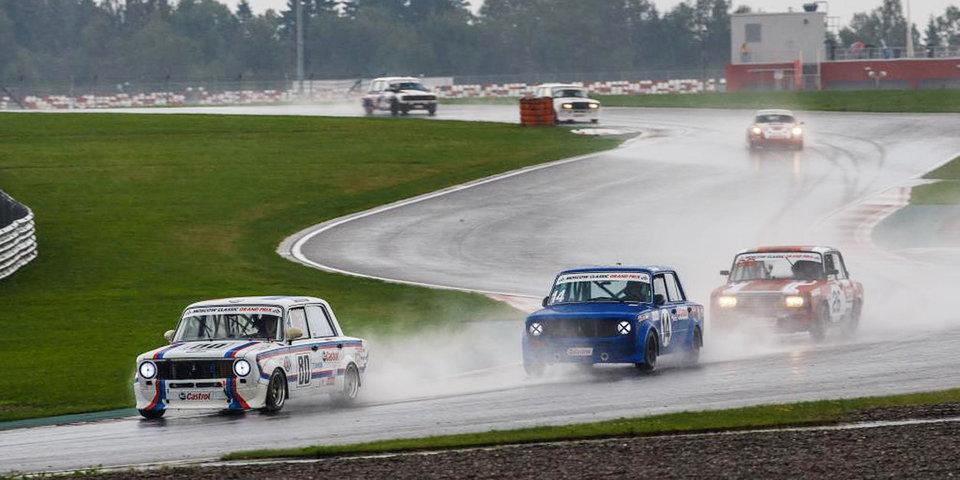 В воскресенье состоялся второй этап Moscow Classic Grand Prix