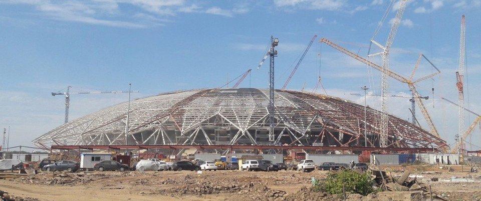 Павел Колобков: «Имеются отставания на отдельных этапах работ на стадионе в Самаре»