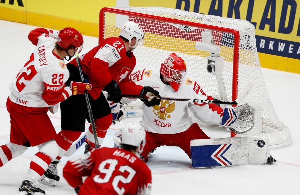 Форвард сборной Швейцарии: «Нам нужно уметь подбирать ключи к таким соперникам, как Россия»