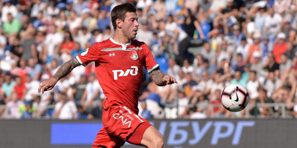 Смолов и Фарфан выйдут на поле в Самаре в старте «Локомотива»