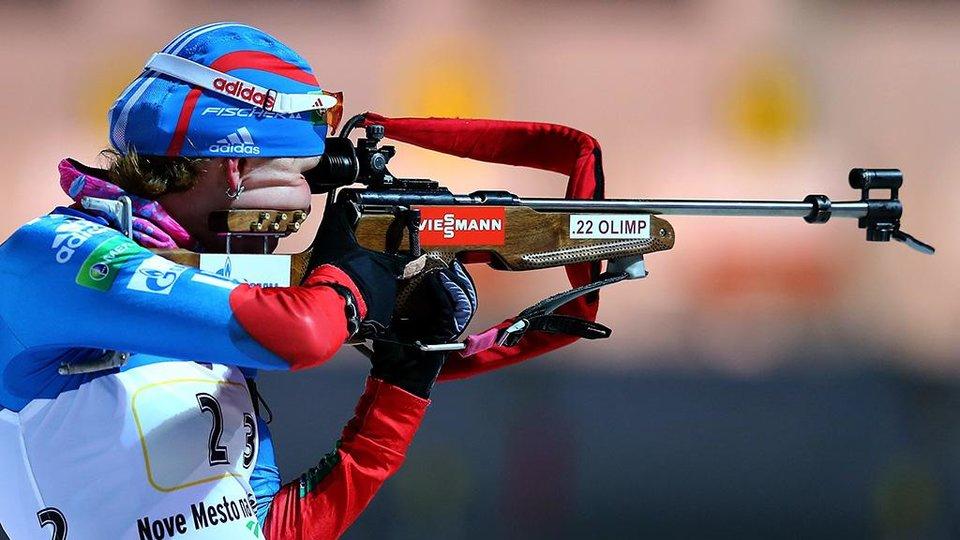 Поршнев выиграл суперпреследование на чемпионате России, Шумилова взяла бронзу