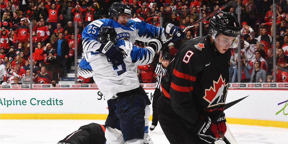 Сборная Канады проиграла Финляндии в четвертьфинале МЧМ