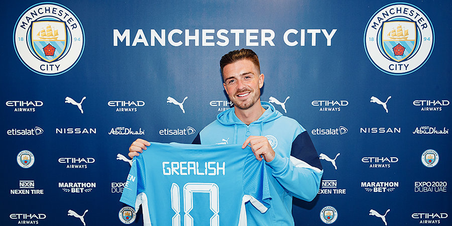 Официально: «Манчестер Сити» объявил о покупке Грилиша