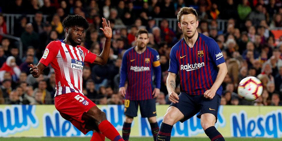 «Атлетико» не хватило 5 минут для ничьей с «Барселоной». Каталонцев уже не догнать в гонке за чемпионство