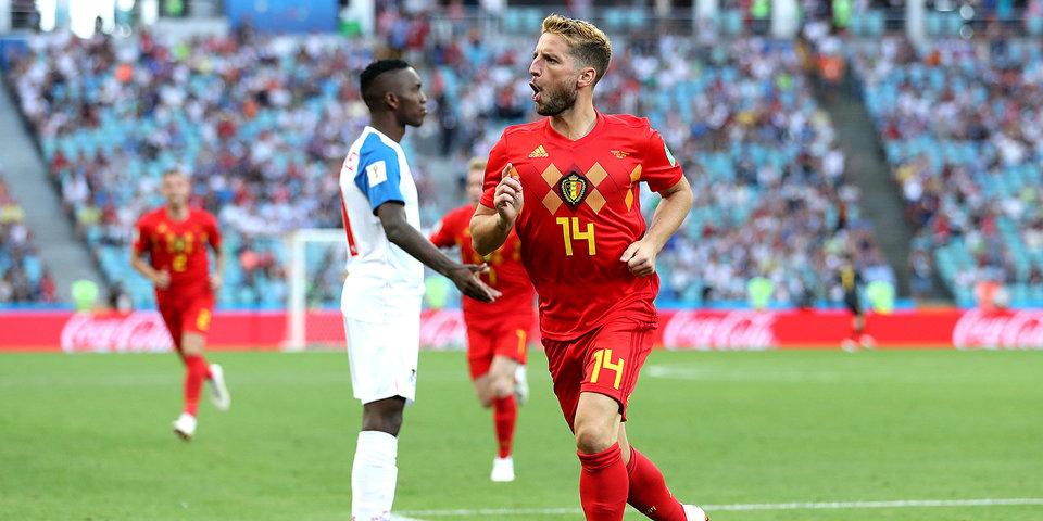 Бельгия cтартовала на ЧМ-2018 с победы над Панамой, Лукаку оформил дубль