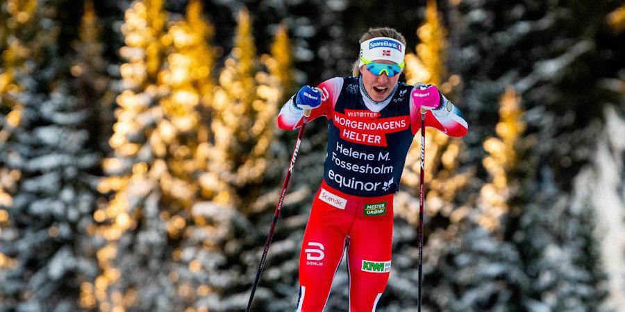 «Новая Тереза Йохауг». Молодая норвежка штурмует национальный чемпионат и планирует биться за медали в элите