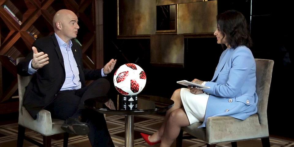 Джанни Инфантино: «Чемпионат мира, который проводит Россия, невероятно, потрясающе успешен»