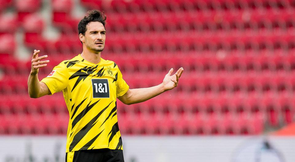 Хуммельс продлил контракт с «Боруссией»