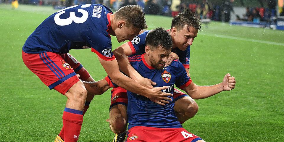 ЦСКА прорывается в групповой этап Лиги чемпионов: лучшие моменты