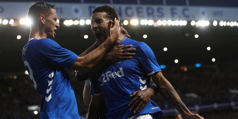 Клуб «Рейнджерс», пропустивший четыре мяча от «Спартака» в ЛЕ, забил семь голов в чемпионате Шотландии