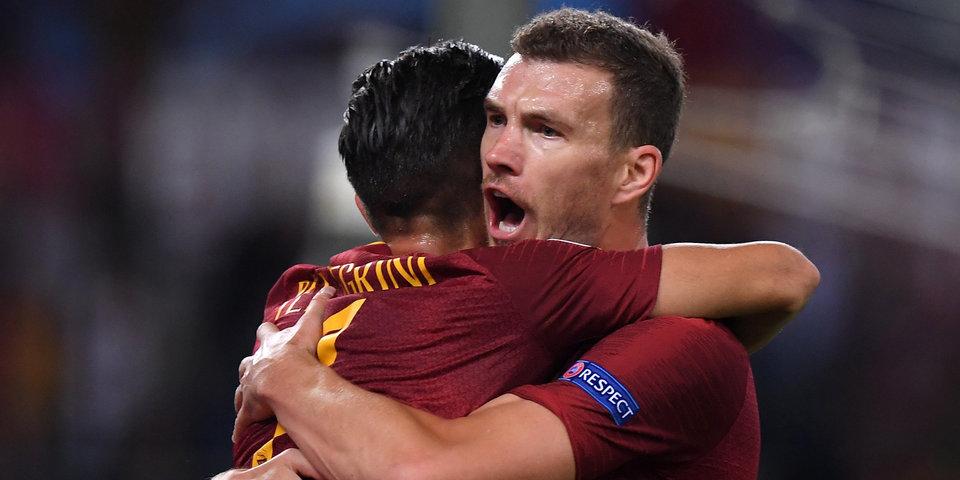 «Рома» вела с разницей в три мяча в матче с «Аталантой», но упустила победу
