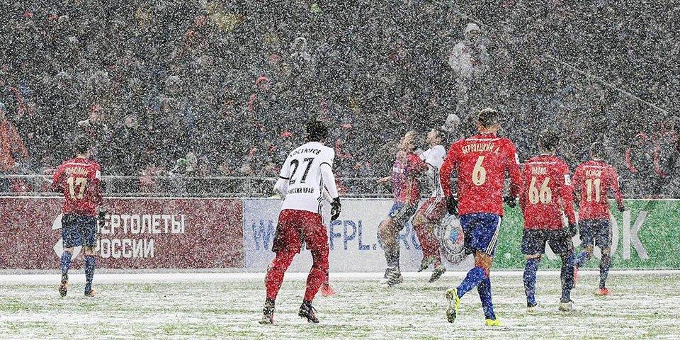 «К ЦСКА я готовился: смотрел видео на Youtube». Самый снежный матч сезона