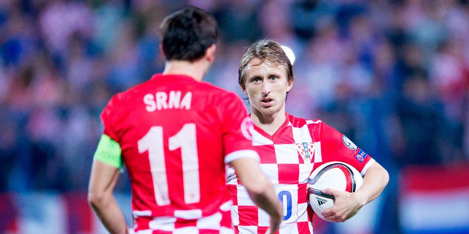 Модрич признан футболистом года в Хорватии