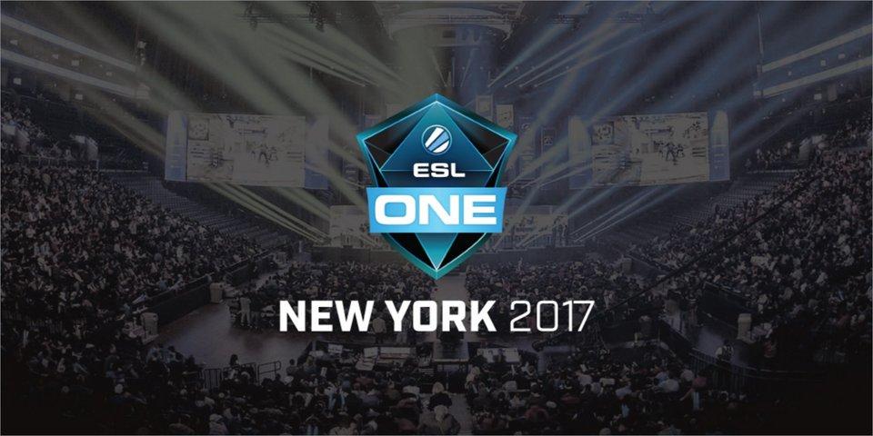 CS:GO: Расписание первого дня турнира ESL One New York 2017