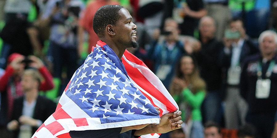 Объявлен состав сборной США на Олимпийские игры в Токио