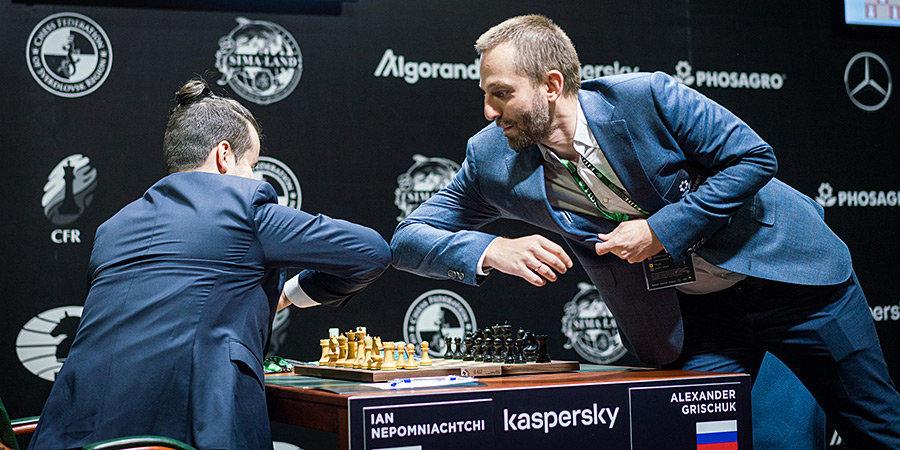 Непомнящий сыграл вничью с Грищуком во втором туре турнира претендентов