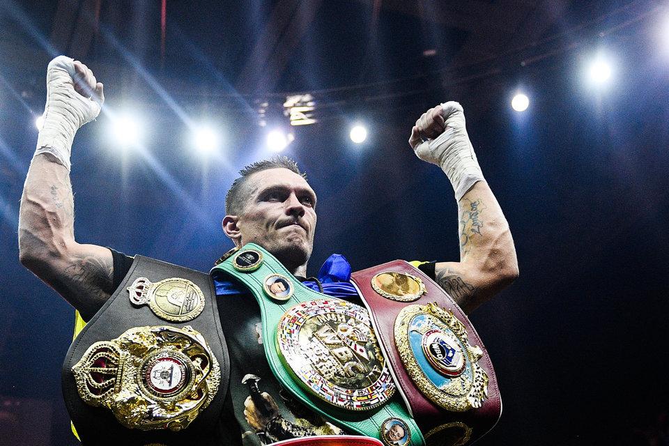 Санчес может провести бой за пояс WBO против Усика