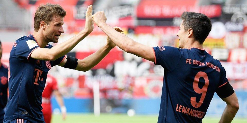 «Бавария» в статусе чемпиона Германии обыграла «Фрайбург», «Вольфсбург» разгромил «Шальке»