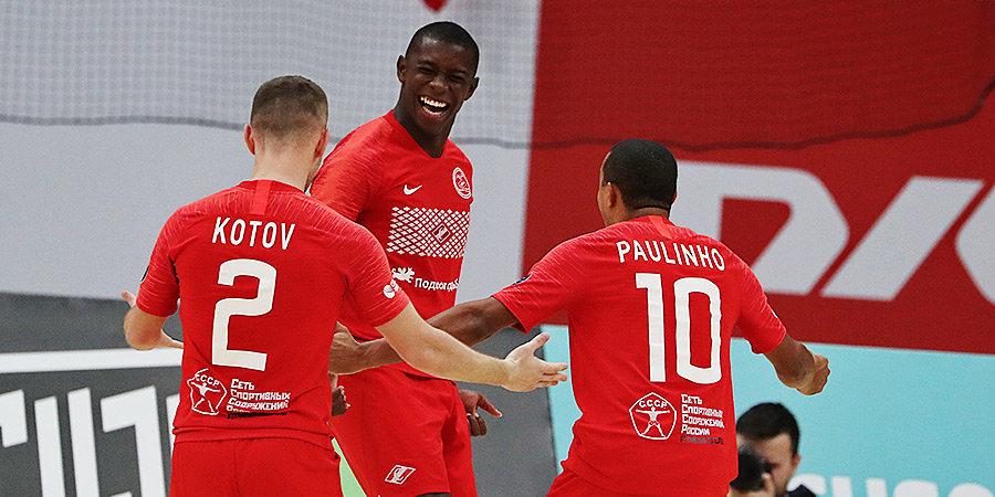 «Спартак» обыграл «Локомотив» и вышел в финал «Мундиалито-2020»
