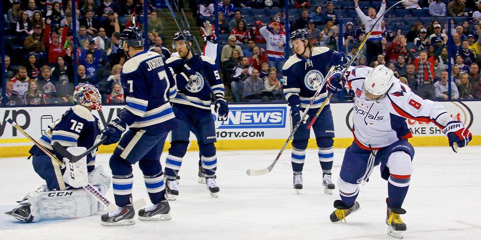 Овечкин вышел на 18-е место в истории НХЛ по забитым голам